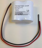 2DH4-0LP3 Battery 2.4v 4.0Ah Ni-Cd From £5.83 EX VAT Buy Online from The Battery Shop